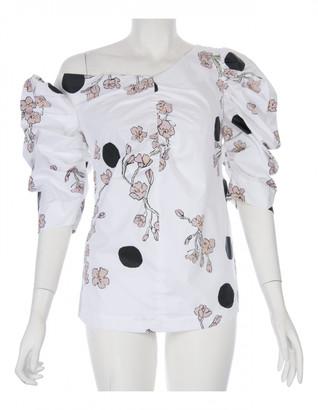 Isa Arfen White Cotton Tops