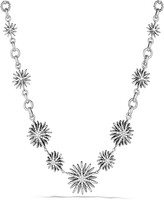 David Yurman Starburst Link Necklace with Diamonds