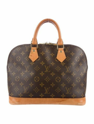 Louis Vuitton Vintage Monogram Alma PM Brown