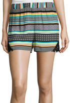 Love By Design Love by Design High-Rise Crochet Lace Short