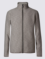 Marks And Spencer Marks And Spencer Textured Fleece Jacket