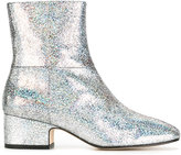 Joseph glitter ankle boots - women - Calf Leather/Leather - 37