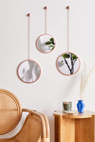 Urban Outfitters Round Hanging Wall Mirror - Set Of 3
