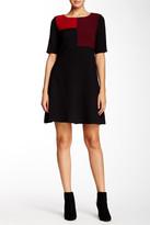 Taylor Colorblock A-Line Dress