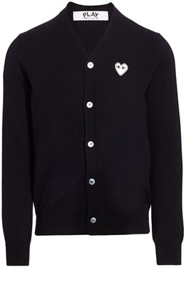 Comme des Garcons Wool Logo Cardigan