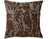 Kevin OBrien Damask 16x16 Pillow, Teal