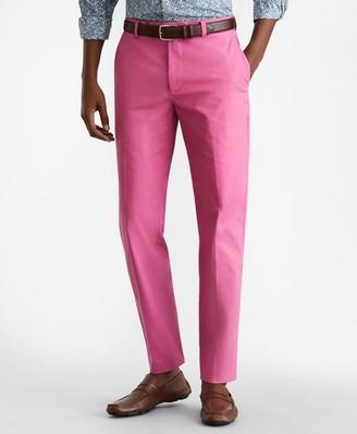 Brooks Brothers Milano Fit Supima Cotton Poplin Stretch Chino Pants