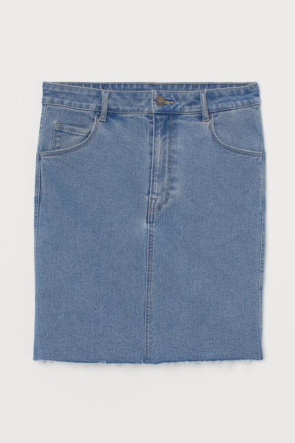 Thumbnail for your product : H&M Short denim skirt