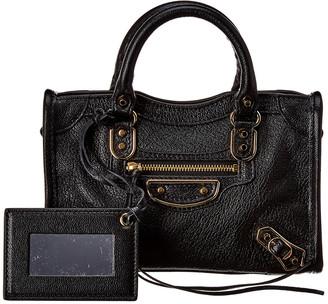 Balenciaga Classic City Nano Leather Shoulder Bag
