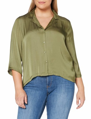 JDY Women's JDYRAPPA 3/4 Shirt WVN NOOS Blouse