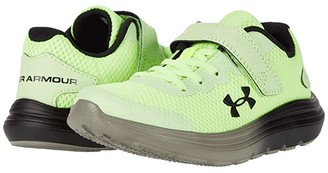 Under Armour Kids Surge 2 (Little Kid) (X-Ray/Gravity Green/Black) Boys Shoes