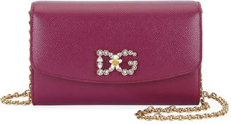Dolce & Gabbana Stampa Dauphine Wallet on Chain