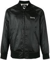 Stussy 'California' print bomber jacket - men - Polyester/Spandex/Elastane - S
