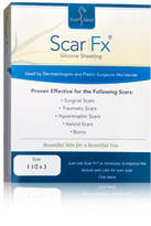 Scar Fx Silicone Sheeting 1.5 x 3 in