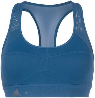 adidas by Stella McCartney mesh panel sports bra