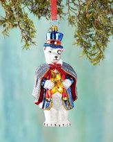 Christopher Radko Polar Eyes-ing Christmas Ornament