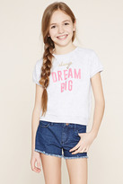 Forever 21 Girls Dream Graphic Top (Kids)
