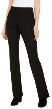 INC International Concepts Inc Pull-On Ponte-Knit Bootcut Pants, Created for Macy's