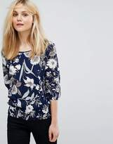 B.young Floral Printed Top