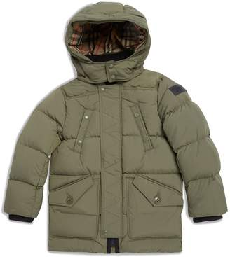 Burberry Military Puffer Jacket