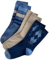 Gold Toe Boys GOLDTOE 3-pk Solid and Patterned Dress Socks