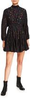 Rhode Resort Caroline Lace Long-Sleeve Dress