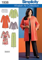 Simplicity Sewing Pattern 1938 Misses' and Plus Size Sportswear, Size AA (10-12-14-16-18)