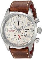 ELYSEE Men's 38007 Graf Berghe von Trips Analog Display Quartz Brown Watch