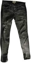 Current/Elliott Current Elliott Grey Cotton - elasthane Jeans for Women
