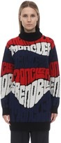 Moncler Wool & Cashmere Jacquard Sweater