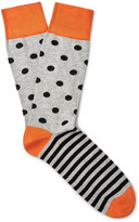 Corgi - Patterned Cotton-blend Socks