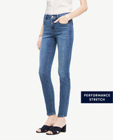 Ann Taylor Modern All Day Skinny Jeans in Rocky Coast Wash