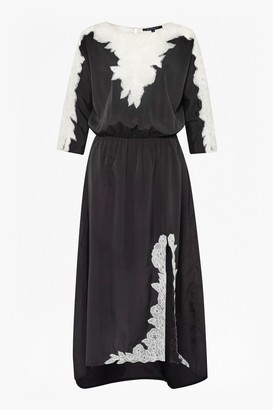 French Connection Isla Embroidered Maxi Dress
