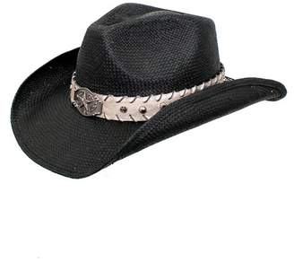 Peter Grimm Headwear Wesley Banded Cowboy Hat