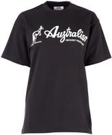 GCDS Australian Printed T-Shirt