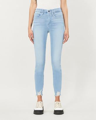 Good American Good Legs skinny mid-rise jeans