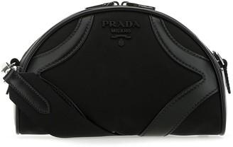 Prada Logo Bowling Shoulder Bag
