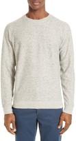 Norse Projects Men's Ketel Melange Double Face Cotton Blend Sweater