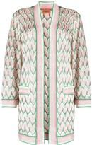 Missoni Zig-Zag Knit Longline Cardigan
