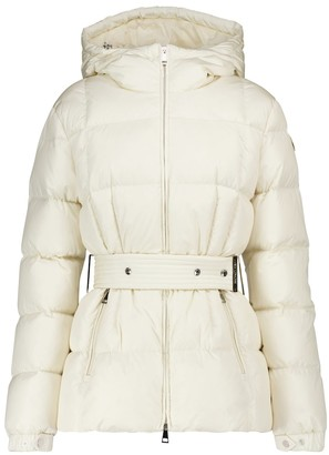 Moncler Illiec belted down jacket