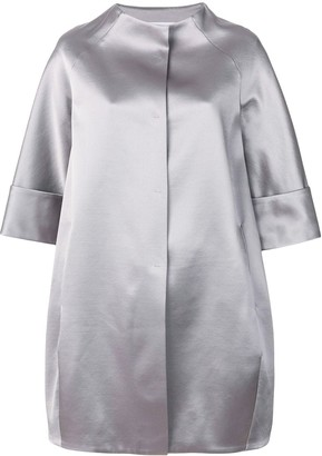 Gianluca Capannolo Cropped Sleeved Coat