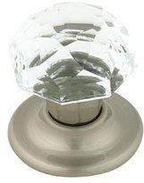 "Amerock Crystal 1 3/4"" Bi-Fold Knob Satin Chrome"