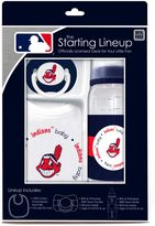 Baby Fanatic MLB Cleveland Indians Baby Essentials Gift Set