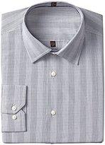 Ben Sherman Men's Super Slim Fit Mini Check Dress Shirt