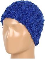 Steve Madden Solid Loopy Knit Skull Cap (Royal) - Hats