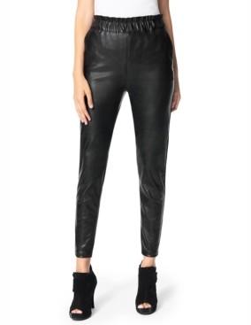 Joe's Jeans Faux-Leather Paperbag Pants