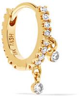 Maria Tash - 18-karat Gold Diamond Hoop Earring