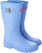 Joules Light Blue Buckle Rain Boot - Girls