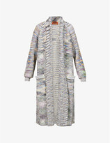 Thumbnail for your product : Missoni Abstract-pattern cashmere- and wool-blend coat