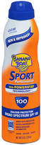 Banana Boat Sport Performance UltraMist Continuous Spray Sunscreen, SPF 100